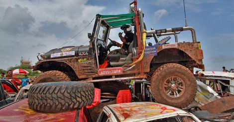 The roar of Thar at Mahindra Adventure Club Challenge