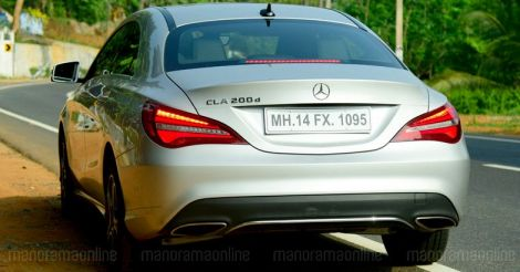 CLA: an affordable sedan from Mercedes