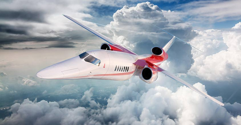 Aerion's supersonic business jet to meet US noise standards
