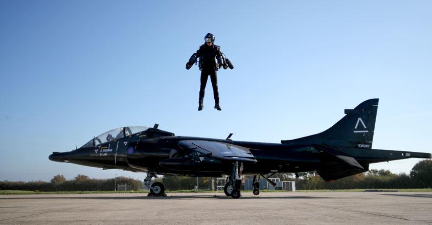 'Iron Man'-style jet suit racing set to take flight in 2019
