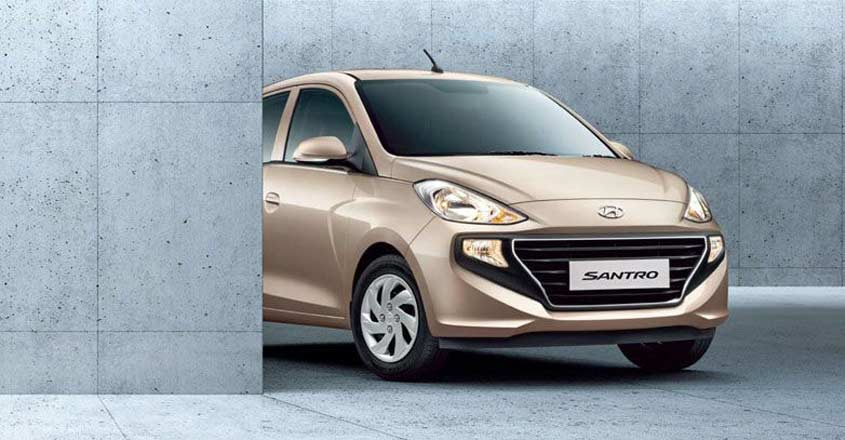 Hyundai Santro to make a comeback, check out the new look