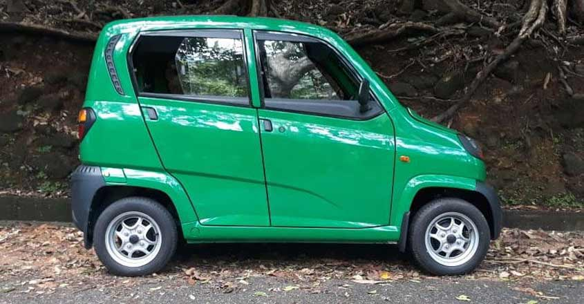 The cute Qute, India's first quadricycle