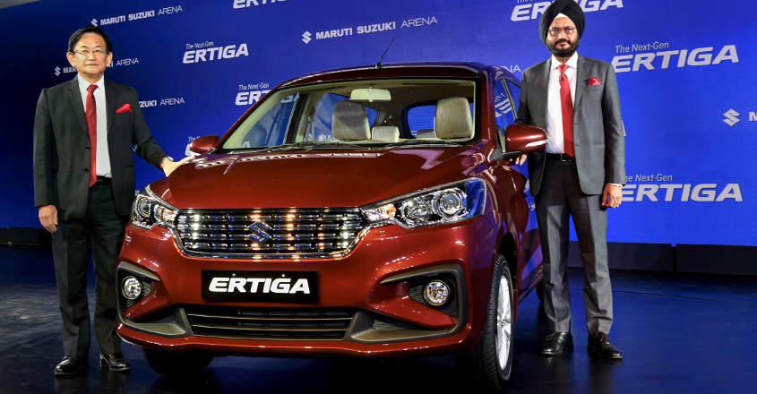 Maruti drives in new Ertiga priced at Rs 7.44 lakh