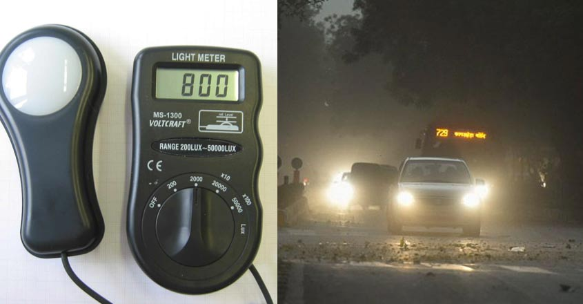Now, MVD to check headlamp brightness with lux meters