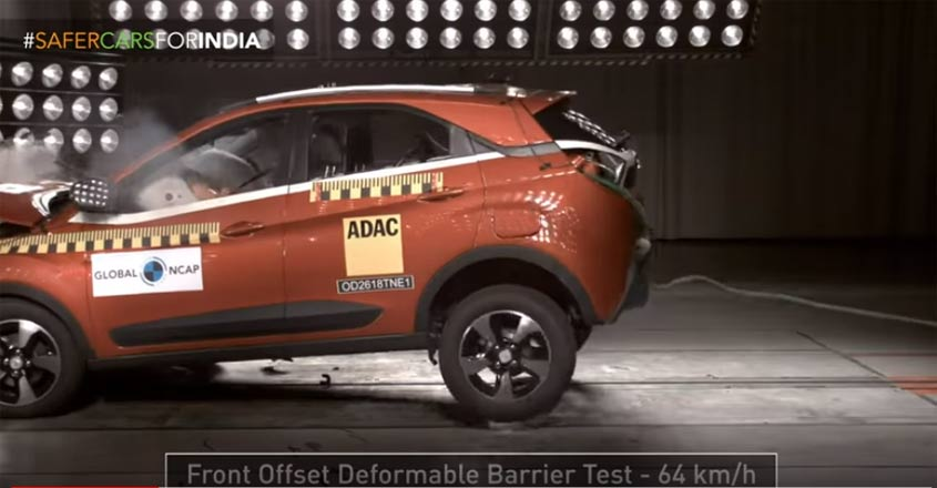 Tata Nexon becomes first Indian car to get 5-star rating in crash test | Video