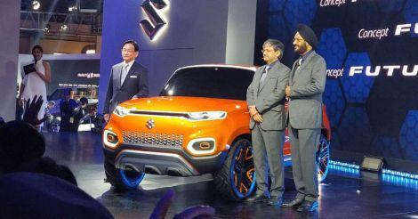 Maruti Suzuki unveils ConceptFutureS, breaks from conventional compact design