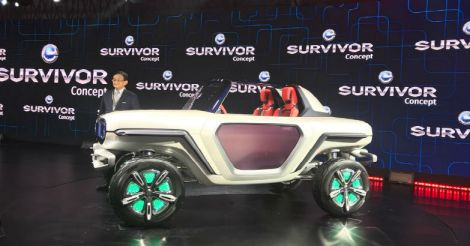 Electric vehicles steal the show at Auto Expo