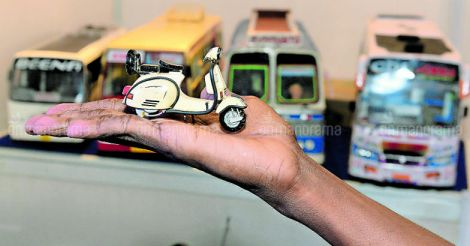 Buses and Benz cars on a shelf: Handling a car was never this easy
