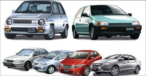 Evolution of Honda City: from good to better