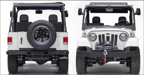 Mahindra Roxor: India's return gift to the land of the Willys