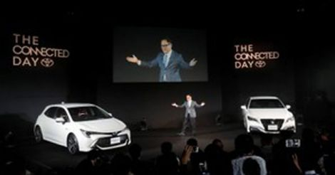 Toyota gives Corolla a sporty makeover in ageing Japan