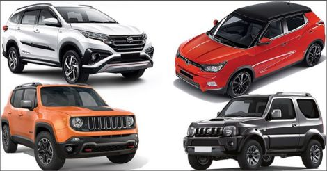 Five upcoming mini SUVs under Rs 10 lakh