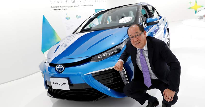 Toyota plans to expand production, shrink cost of hydrogen fuel cell vehicles