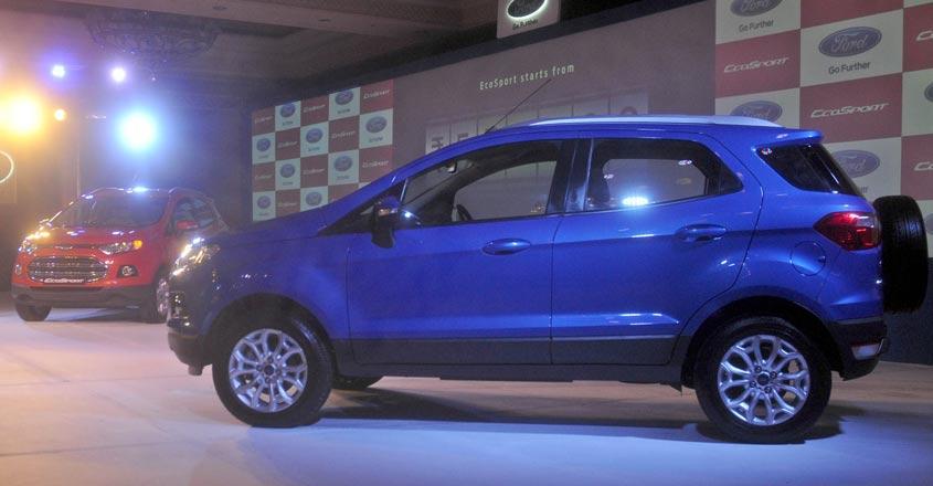 Ford India recalls 5,397 EcoSport compact SUVs