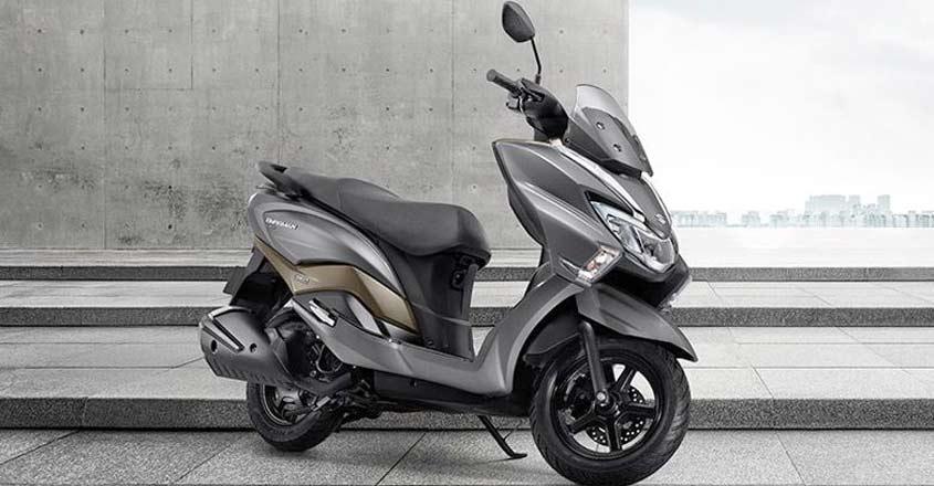 Burgman Street, the maxi-scooter from Suzuki