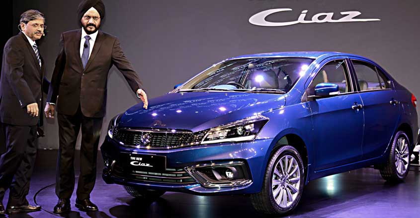 Maruti rolls out new Ciaz with hybrid technology