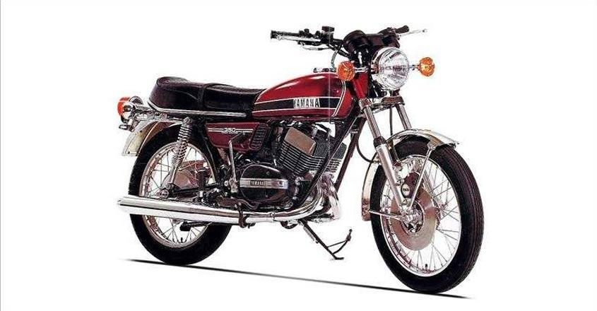 Revving up nostalgia, the Yamaha RD 350 & RX 100