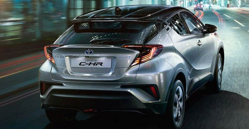 Toyota C-HR to take on Jeep Compass