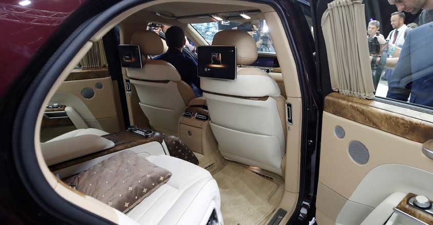 Aurus Senat: the luxury limousine used by Putin during swearing-in