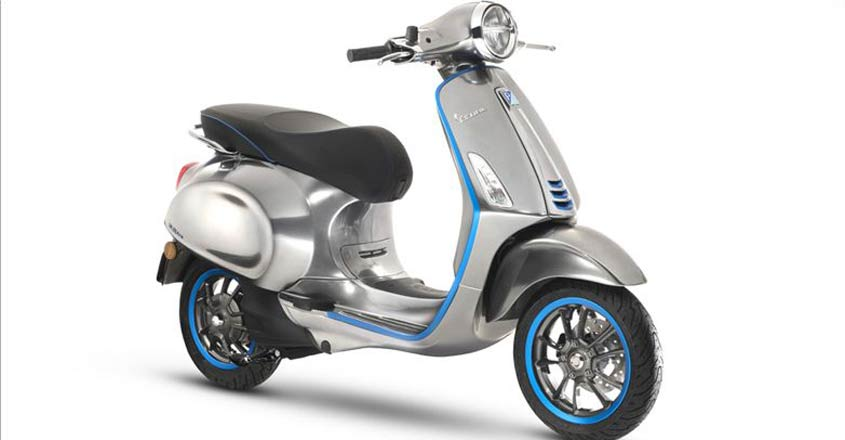 Vespa's electric scooter is a marathon runner