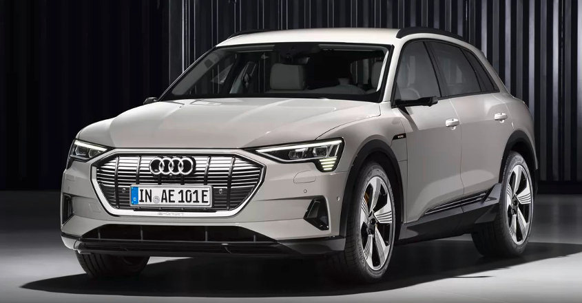 Here's the E-tron, Audi's first all-electric SUV