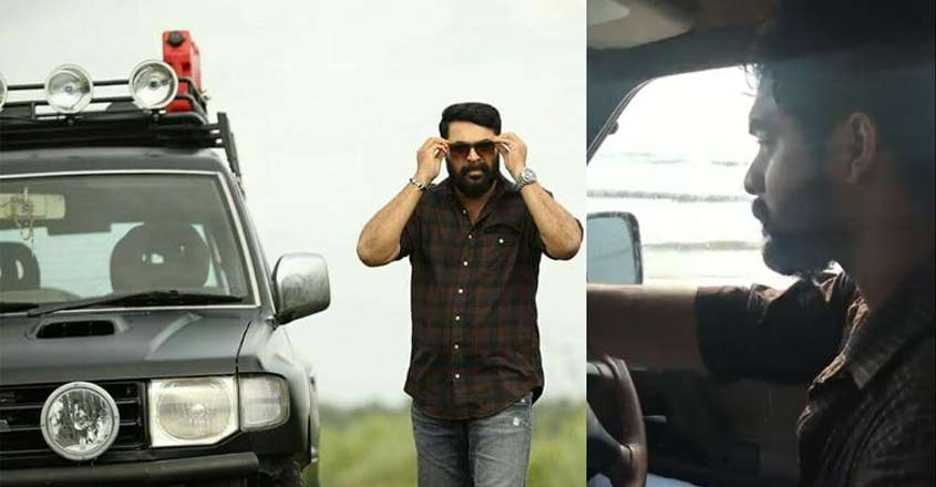 Tovino takes Mammootty's beast for a spin | Video