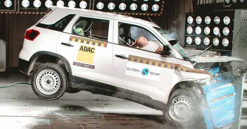 Maruti Vitara Brezza aces safety test; Renault Lodgy flunks | Video