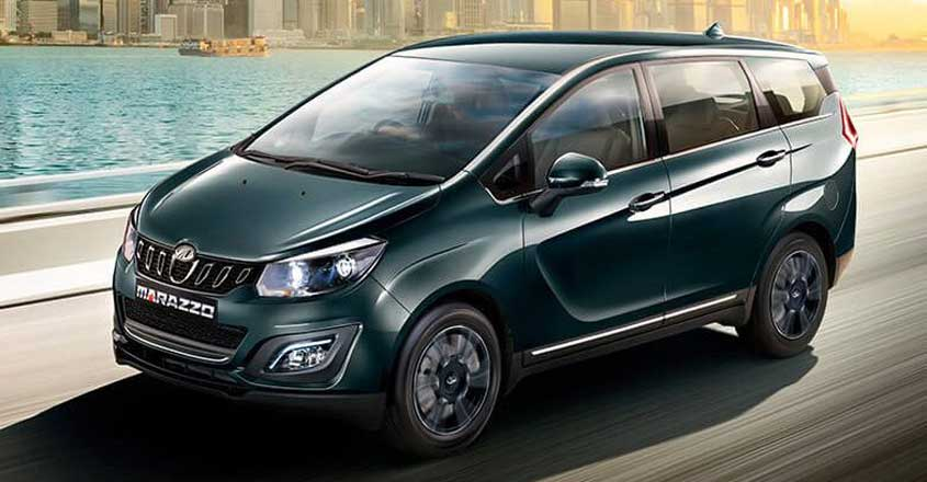 Marazzo – An Innova Crysta rival for just Rs 10 lakh