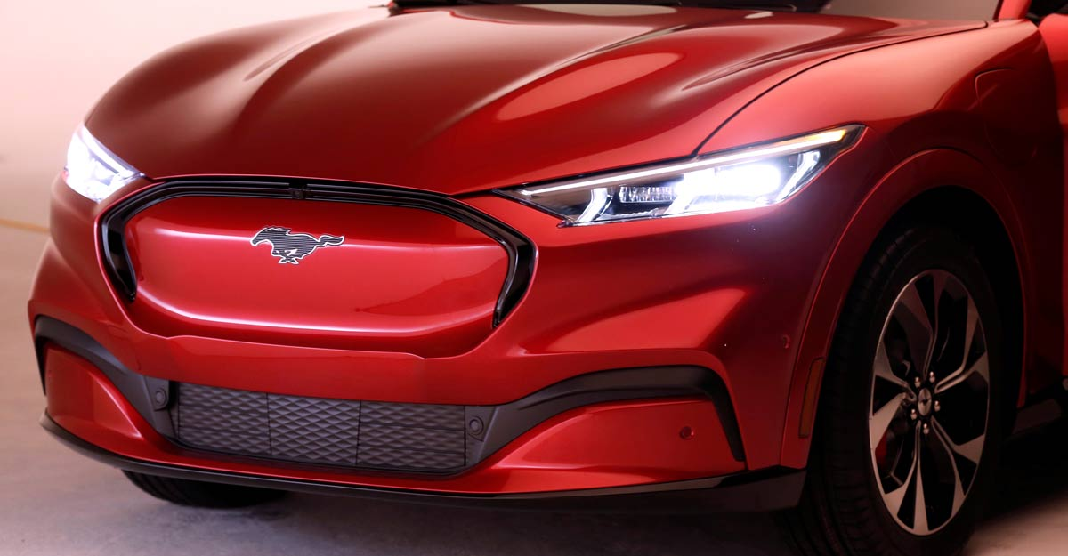 Ford bets on an electric Mustang to charge its turnaround | Watch launch video