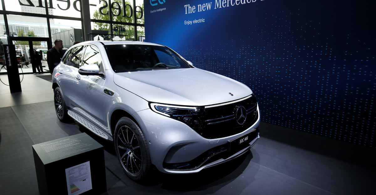 Daimler's electric Mercedes-Benz SUV to make US debut in 2021