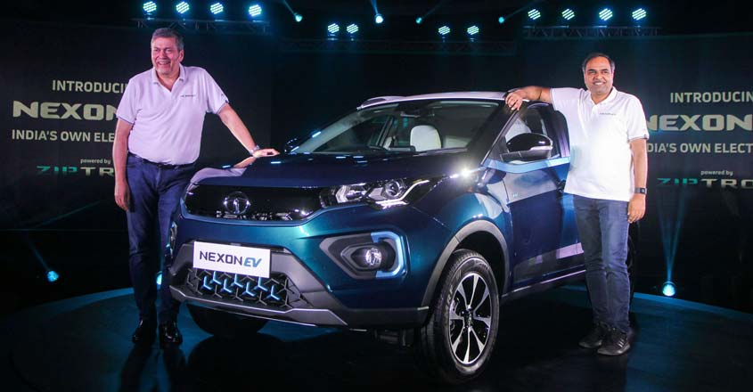 Tata Motors unveils Nexon EV with over 300 km range