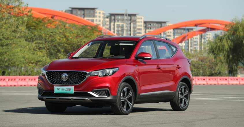 MG ZS EV booking begins in 5 cities