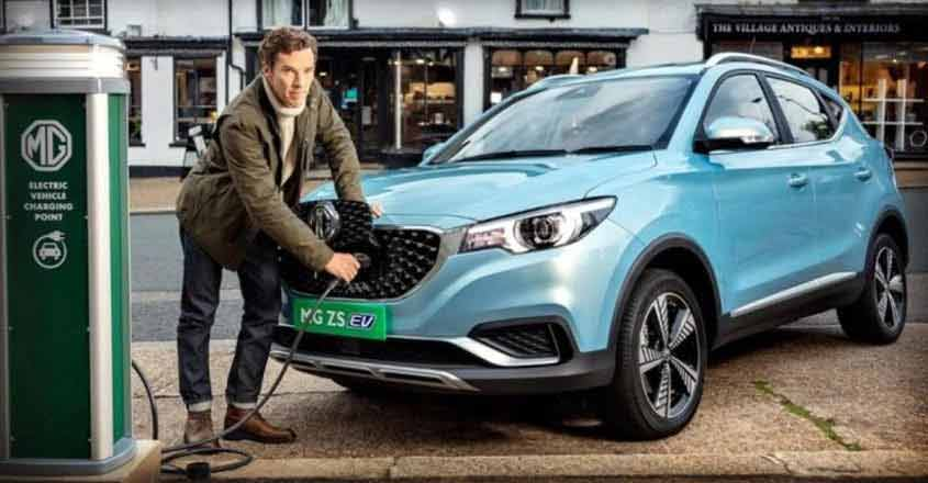 MG Motor unveils ZS electric vehicle, launch in January