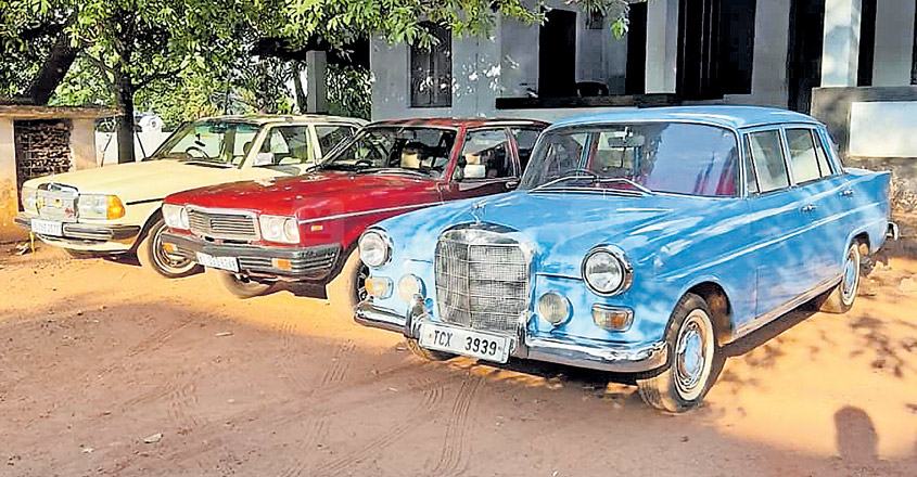 A Thrissur lad's love for vintage wheels