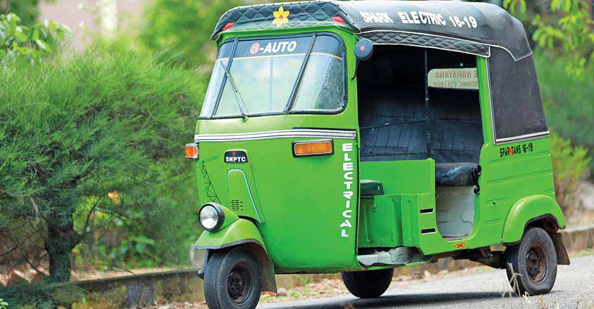 These polytechnic students converted an old auto into electric