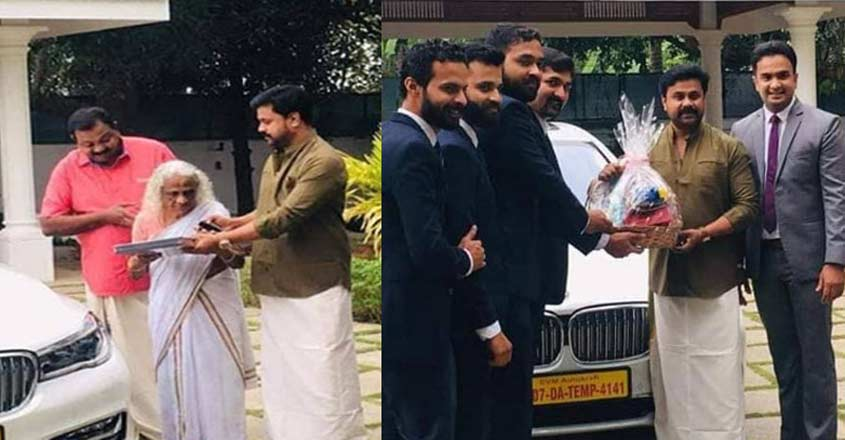 Actor Dileep adds BMW 7 Series to his lineup of cars