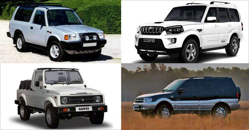 From Gypsy to Sierra, here are some SUVs that still command respect