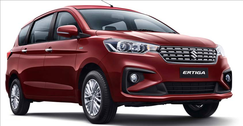 New Ertiga with a lot more features and a new petrol engine
