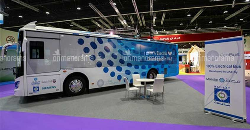 UAE's first fully electric bus service launched in Abu Dhabi