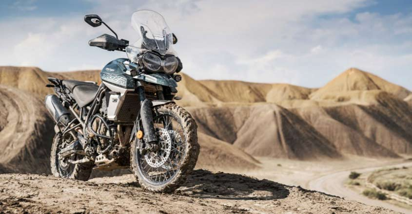 Triumph launches critically acclaimed Tiger 800 XCA