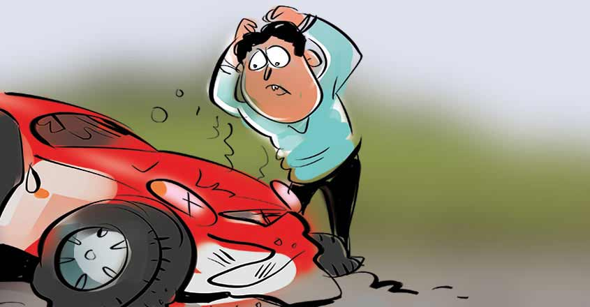 Are you sure you have a genuine motor insurance policy?