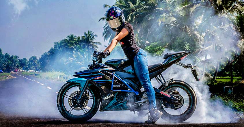Tana: the Malayali girl breaks stereotypes one wheelie at a time | Video