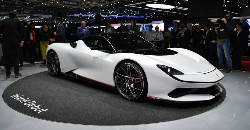 Mahindra's Pininfarina unveils world's fastest electric car