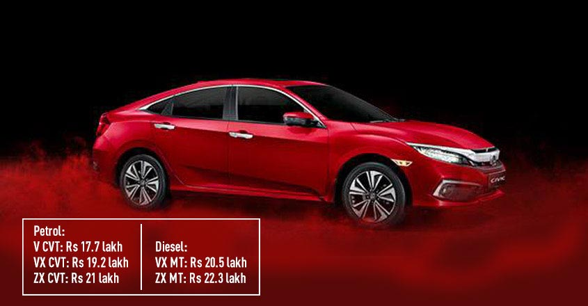 Honda launches revamped Civic, price starts at... | Video
