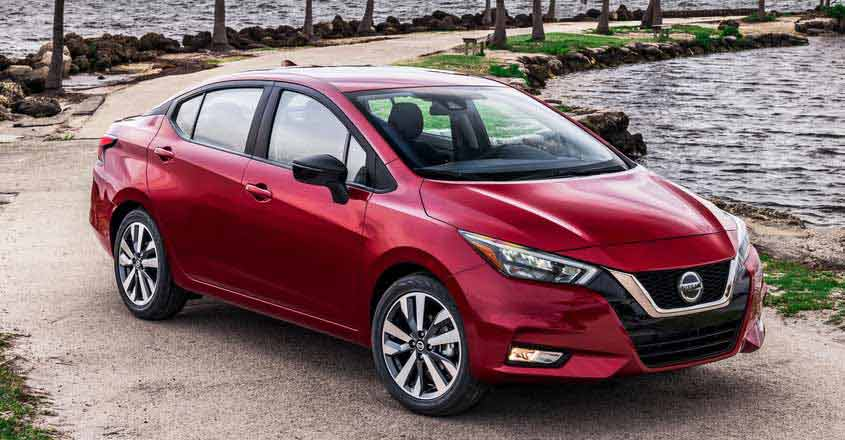 Brand new Nissan Sunny unveiled at New York Auto Show