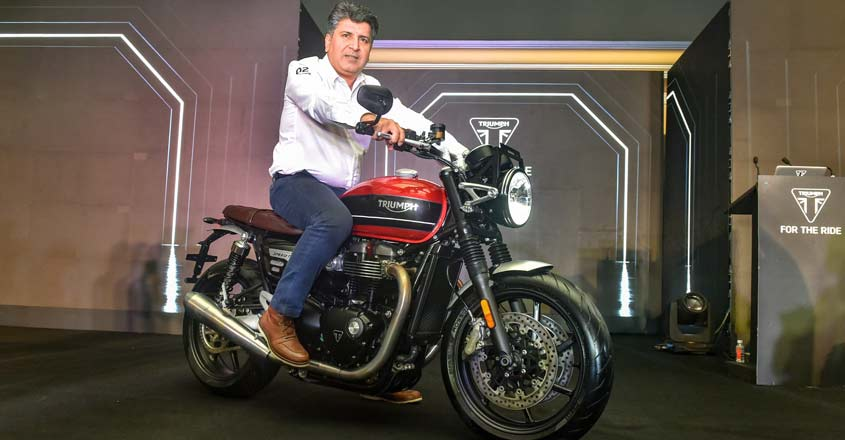 Triumph launches Speed Twin at Rs 9.46 lakh