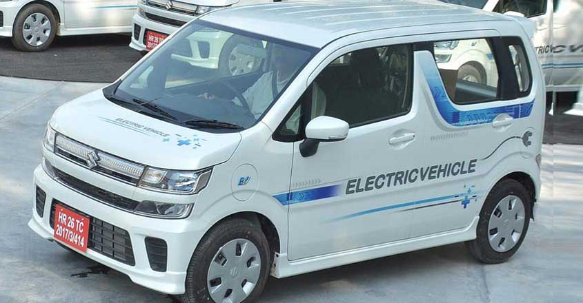 Electric Wagon R to be out next year, 200 km in single charge