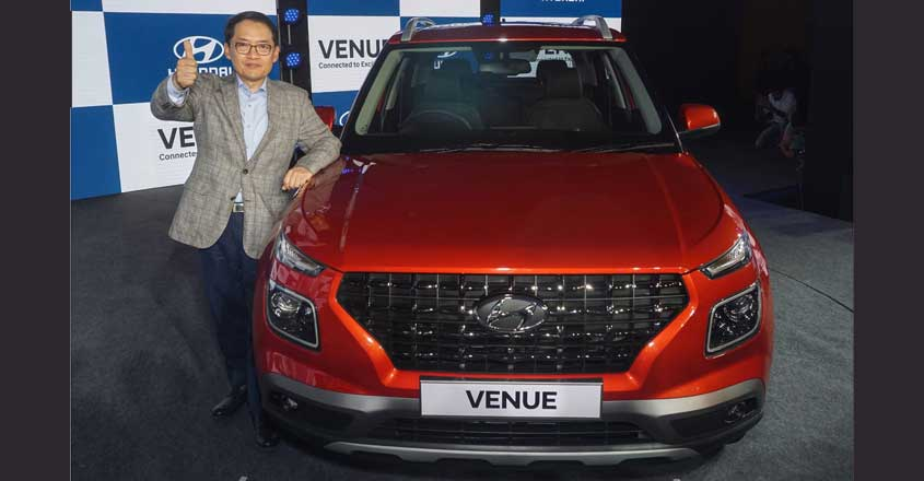 Hyundai revs up competition in compact SUV segment with 'Venue'