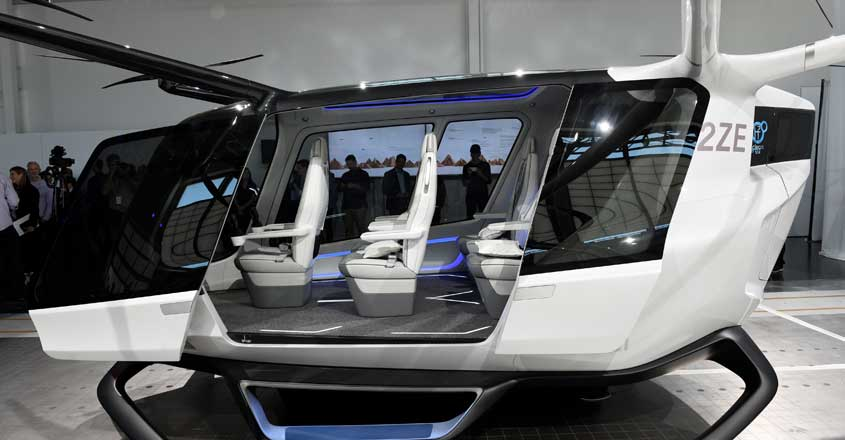 Now, hydrogen-powered flying vehicle to ease traffic snarls