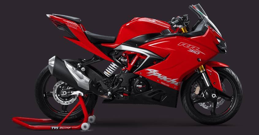 TVS Motor launches Apache RR310 with slipper clutch